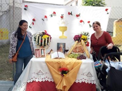 Altar Madres del Angel